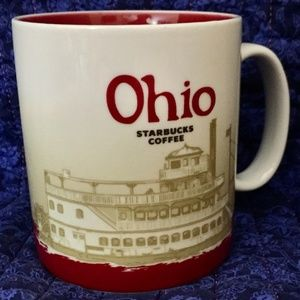 Starbucks City Mugs Ohio 2009 Collector Series
